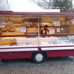 Verkaufsfahrzeug für Bäckerei